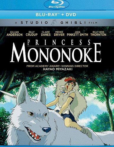 もののけ姫 ニューパッケージ版 北米版DVD+ブルーレイ 日本語・英語・フランス語に切り替え可能! スタジオジブリ BD