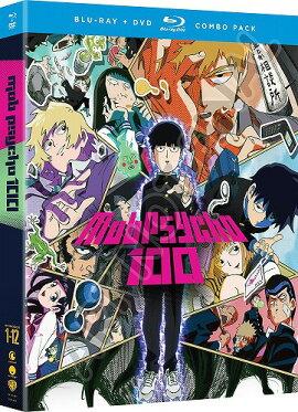 【先行予約】モブサイコ100通常版北米版DVD+ブルーレイ全12話収録BD