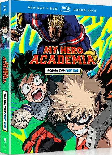 僕のヒーローアカデミア 第2期 Part2 通常版 北米版DVD+ブルーレイ 26話〜最終38話収録 BD