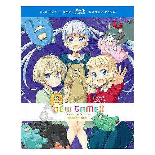NEW GAME!! 第2期 北米版DVD+ブルーレイ 全12話収録 BD