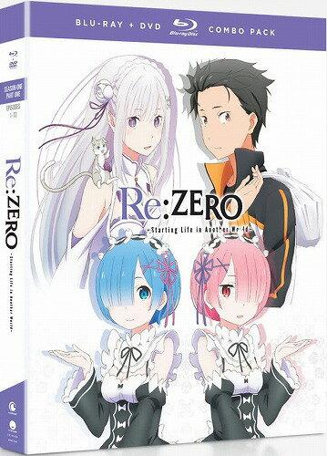 Re:ゼロから始める異世界生活 第1期 Part1 通常版 北米版DVD+ブルーレイ 1〜12話収録 BD