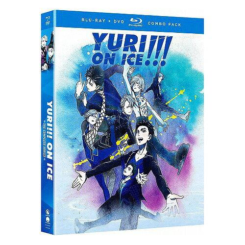 ユーリ!!! on ICE 通常版 北米版DVD+ブルーレイ 全12話収録 BD