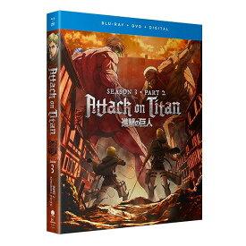 進撃の巨人 第3期 Part2 通常版 北米版DVD+ブルーレイ 13〜22話収録 BD