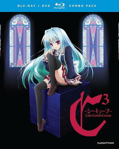 C3 -シーキューブ-■北米版DVD+ブルーレイ■全13話収録 BD シーキューブ 水瀬葉月