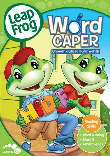 リープフロッグ Leap Frog Word Caper 第3作目■北米版DVD■フォニックス入門編としてもお勧めです 知育