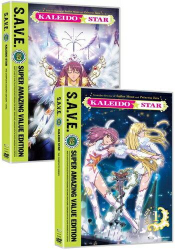 カレイドスター 第一部+第二部 ニューパッケージ版■北米版DVD■全51話+OVA2話収録