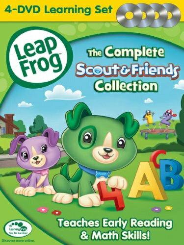 【在庫あり】リープフロッグ DVD4枚セット The Complete Scout & Friends Collection■北米版DVD■フォニックス入門編としてもお勧めです 知育