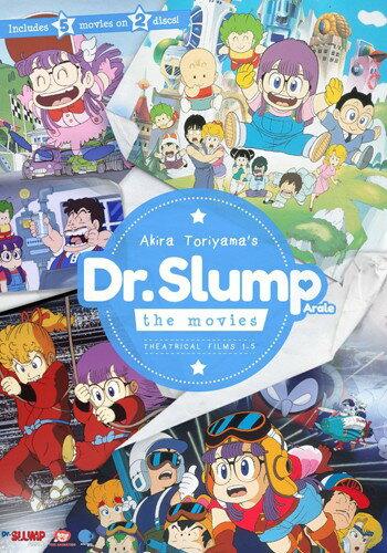 Dr.スランプ 劇場版■北米版DVD■5作品収録 ドクタースランプ アラレちゃん