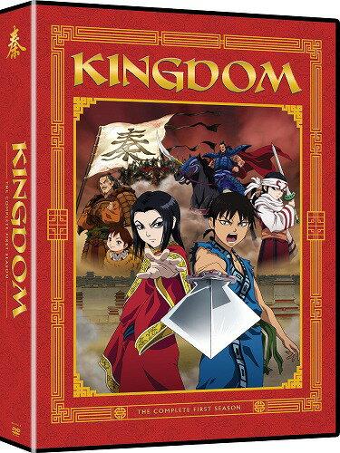 キングダム 第1期■北米版DVD■全38話収録 原泰久