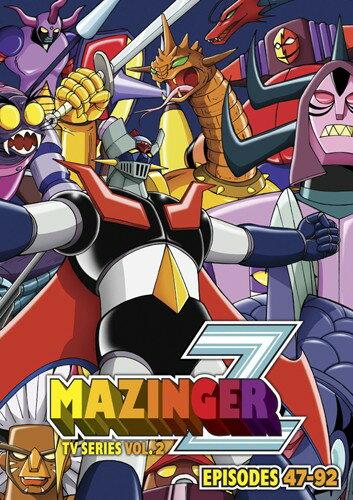 マジンガーZ Part2■北米版DVD■47〜最終92話収録 永井豪