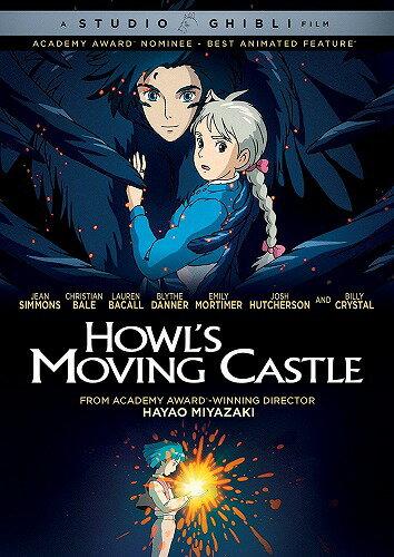 【在庫あり】ハウルの動く城 ニューパッケージ版 北米版DVD 日本語・英語・フランス語に切り替え可能! スタジオジブリ