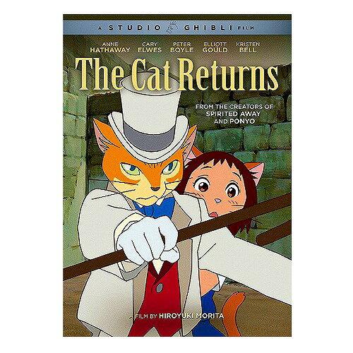 猫の恩返し ニューパッケージ版 北米版DVD 日本語・英語・フランス語に切り替え可能! スタジオジブリ
