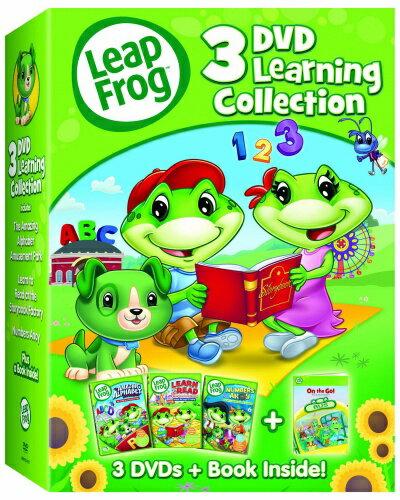 リープフロッグ Leap Frog DVD3枚+ブックセット■北米版DVD■3DVD Learning Collection フォニックス入門編としてもお勧めです 知育