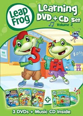 リープフロッグLeapFrog■新品DVD■DVD3枚+CD1枚セット北米版