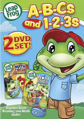 リープフロッグ Leap Frog ABC's and 123's DVD2枚セット■北米版DVD■フォニックス 知育