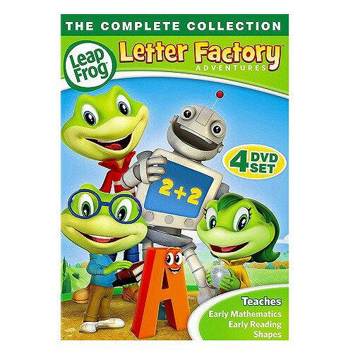 リープフロッグ Leap Frog Letter Factory Adventures DVD4枚セット■北米版DVD■フォニックス 知育