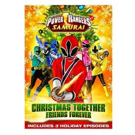 【輸入版】侍戦隊シンケンジャー / Power Rangers Samurai: Christmas Together, Friends Forever■北米版DVD■