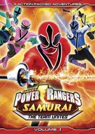【輸入版】侍戦隊シンケンジャー Vol. 1 / Power Rangers Samurai Vol. 1: The Team Unites■北米版DVD■