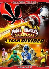 【輸入版】侍戦隊シンケンジャー Vol. 3 / Power Rangers Samurai Vol. 3: A Team Divided■北米版DVD■