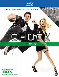 CHUCK チャック サード・シーズン コンプリート・ボックス〈4枚組〉【Blu-ray/洋画アクション|スパイ】