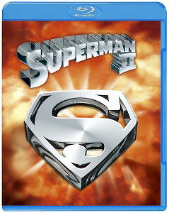 スーパーマンII 冒険篇 劇場版 スペシャル・パッケージ('81米)〈初回生産限定・2枚組〉【Blu-ray/洋画アクション|SF】