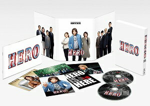 HERO スペシャル・エディション('15フジテレビジョン/ジェイ・ドリーム/東宝/FNS27社)〈2枚組〉【Blu-ray/邦画法廷|ドラマ】