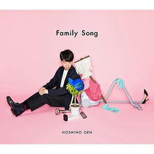 星野源/Family Song (初回限定盤)【CD・J-POP】【新品】