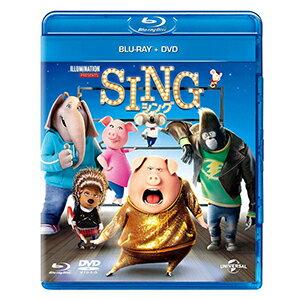 SING/シング ブルーレイ+DVDセット【Blu-ray・キッズ/ファミリー】【新品】