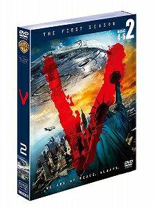 【アウトレット品】V ファースト・シーズン セット2〈3枚組〉【DVD/洋画SF|ドラマ】