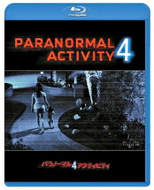 【アウトレット品】パラノーマル・アクティビティ4('12米)【Blu-ray/洋画ホラー】