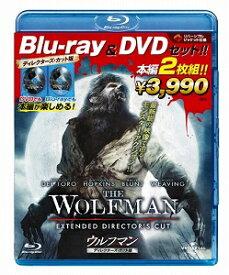 ウルフマン ブルーレイ&DVDセット('10米)〈2枚組〉【Blu-ray/洋画アクション|ホラー|サスペンス】