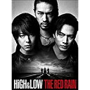 HiGH&LOW THE RED RAIN 豪華版('16「HiGH&LOW」製作委員会)〈2枚組〉【DVD/邦画アクション|バイオレンス】