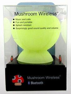 ADDON TECHNOLOGY(GREEN)mushroom Speaker GREEN【家電/オーディオ】