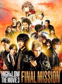 HiGH&LOW THE MOVIE 3〜FINAL MISSION〜 豪華盤('17「HiGH&LOW」製作委員会)〈2枚組〉【DVD/邦画アクション|バイオレンス】