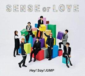 Hey!Say!JUMP/SENSE or LOVE〈通常盤/初回プレス〉【CD/邦楽ポップス】