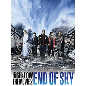 HiGH&LOW THE MOVIE 2〜END OF SKY〜('17「HiGH&LOW」製作委員会)〈2枚組〉【DVD/邦画アクション|バイオレンス】