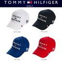 【新品】 トミーヒルフィガーゴルフ TOMMY HILFIGER GOLF 3段ロゴ キャップ THMB7DEF 2017年モデル 日本正規品