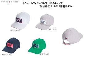 【新品】 トミーヒルフィガーゴルフ TOMMY HILFIGER GOLF USA キャップ THMB803F 2018年モデル 日本正規品