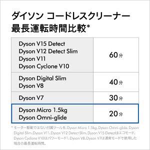 【最軽量モデル】ダイソンDysonMicro1.5kgサイクロン式コードレス掃除機dysonSV21FF2020年最新モデル