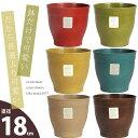 アメリカ生まれの植木鉢「エコフォームズ」(18cm)
