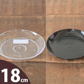 色んな植木鉢と相性バッチリ。透明な受皿(6号)
