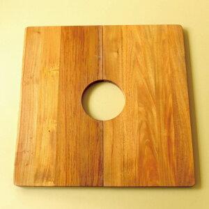 これ、お勧め!部屋に観葉植物がある人は、是非お試し下さい。置き場所を有効に使う。見た目も素敵。木の風合いがお洒落!WOODテーブル「30cmタイプ」【チーク材、マンゴー材、プラントテーブル】