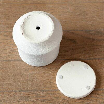 ザラッとした質感。マット調の陶器鉢M(11cm)