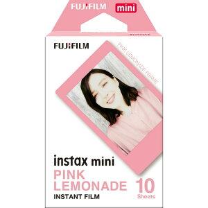 チェキフィルム INSTAX MINI PINK LEMONADE WW1 インスタントフィルム インスタント フィルム チェキ チェキ用 インスタントカメラ ポラロイドカメラ インスタントカメラ用 ポラロイド用 おしゃれ