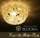 【送料無料】BLOOM-L ブルームシーリングライト GEM-6892【シャンデリア LED アンティーク ガラス レトロ 天井照明 LE…