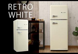 冷蔵庫115L小型2ドア2ドア冷凍冷蔵庫おしゃれ新生活一人暮らし1人暮らし2ドア冷蔵庫Grand-Lineレトロ冷凍/冷蔵庫二人暮らしおすすめノンフロン大容量ARE-115LGARE-115LWARE-115LBライトグリーンレトロホワイトオールドブラック【D】