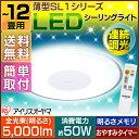 《6/1 9:59迄》【あす楽】【在庫処分】LEDシーリングライト 12畳 調光 CL12D-SL1 アイリスオーヤマ送料無料 天井照明 …