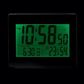 カシオ電波目覚まし時計DQL-130NJ-8JFCACIO【HD】【時計ブランド置時計アラーム新生活卓上】