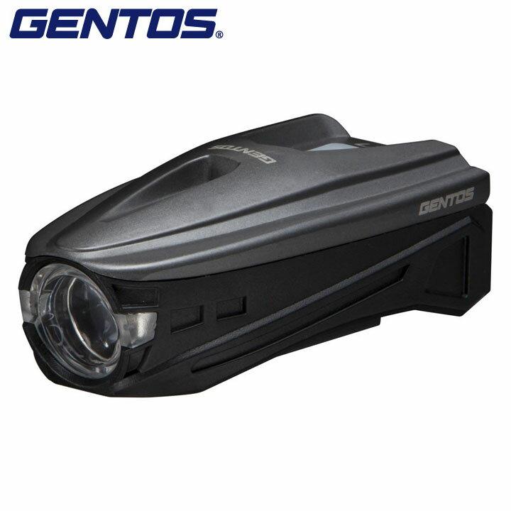【送料無料】【自転車 照明】バイクライト【電灯 明かり 防犯】GENTOS AX-007 GR【K】【TC】