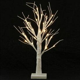 LEDブランチツリー 60CM ホワイト 17457クリスマスツリー ブランチツリー LED LEDライト イルミネーション クリスマス Xmas 北欧 不二貿易 【D】